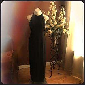 Simple yet elegant black formal dress